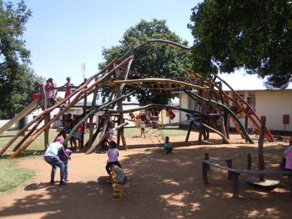 Spielplatz in Soweto