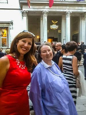 Nelly Kostadinova und Lore Bert in Venedig
