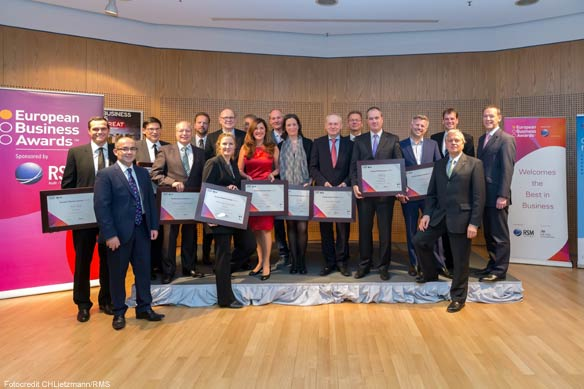 Ehrung in der britischen Botschaft: Lingua-World ist National Champion