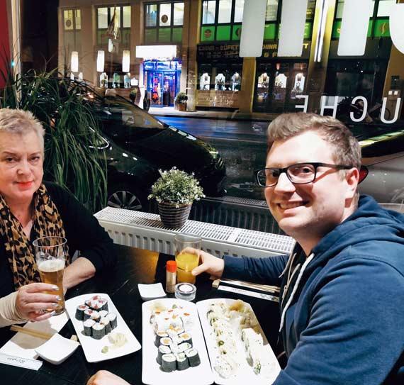 Sushi zum Geburtstag in Nürnberg