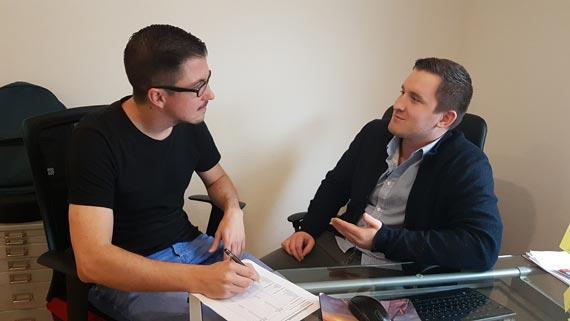 Lingua-World Vertriebsleiter im Gespräch